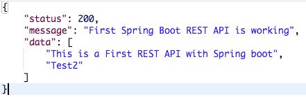 Spring Boot - REST API Response