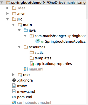 Spring boot - REST API project structure