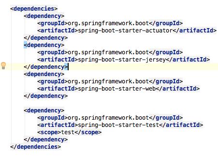 Spring Boot REST API - maven dependencies